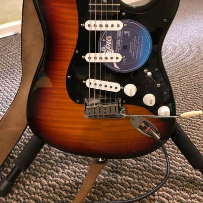 Fender Custom Shop Limited Edition 35th Anniversary Stratocaster Sunburst 1989 with 1965 pickups for sale