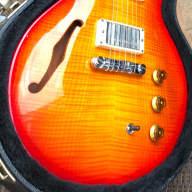 1996 Hamer Artist Guitar USA, Sunburst Flame Maple Top, Seth Lovers, Case for sale