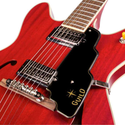Guild Starfire V Electric Guitar - Cherry Red for sale