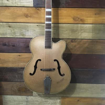 Rolyford 1950`s Archtop acoustic 1950`s Gold for sale