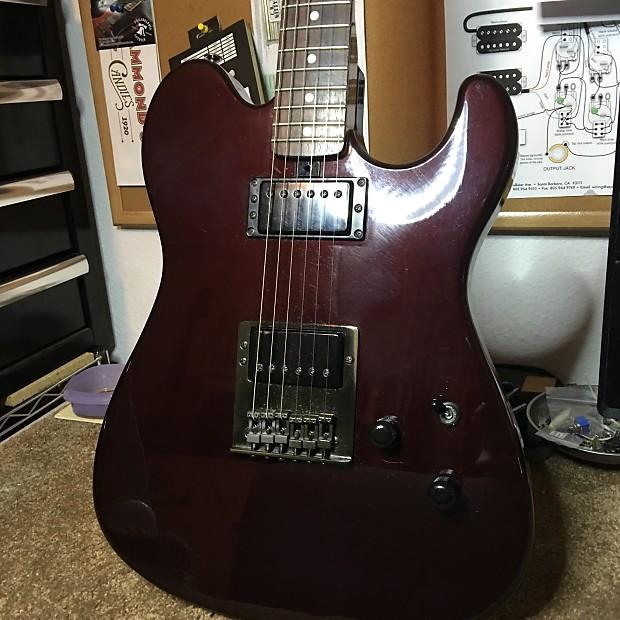 vintage yamaha sj550hr 80s black cherry electric guitar reverb. Black Bedroom Furniture Sets. Home Design Ideas