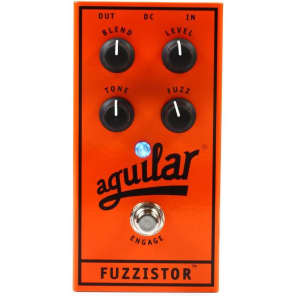 Aguilar Fuzzistor Bass Guitar Fuzz Effects Pedal for sale