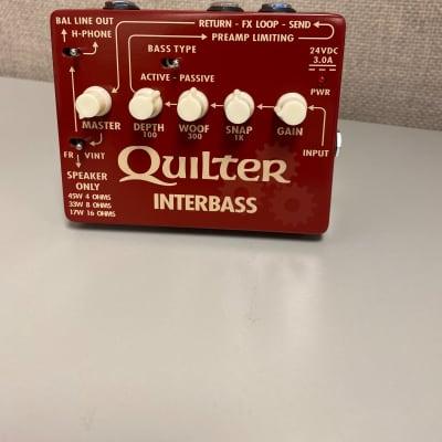 Quilter InterBass 45-Watt Bass Amp Pedal