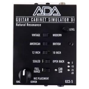 A/DA GCS-5 Guitar Cabinet Simulator/DI