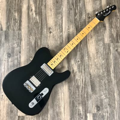 Crook Custom Guitars Tele Tuxedo Black for sale