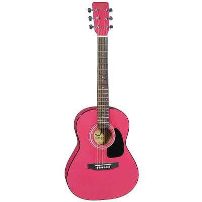 J. Reynolds JR14PK 36-Inch 6-String Classical Acoustic Guitar - Pink - (B-Stock) for sale