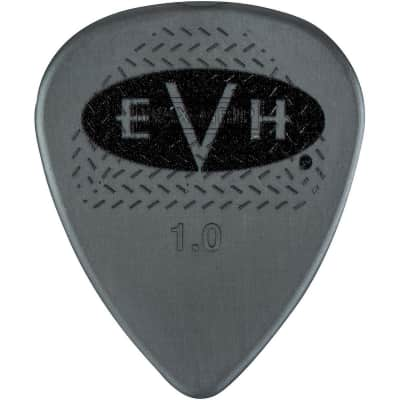 EVH Signature Series Guitar Picks (6 Pack) 1.0 mm Gray/Black 022-1351-605 image
