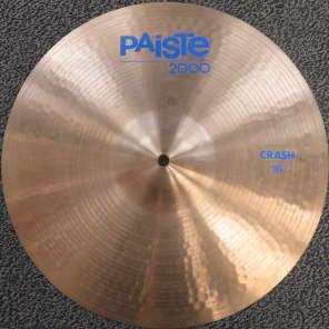"Paiste 16"" 2000 Crash Cymbal"