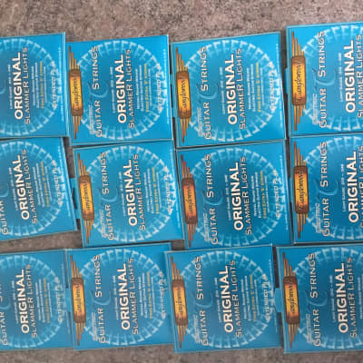 Bulk 12x Tanglewood branded Daddario Exl110 Extended play electric guitar strings 10-46 light guage