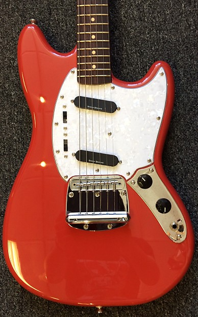 squier vintage modified mustang fiesta red music city reverb. Black Bedroom Furniture Sets. Home Design Ideas