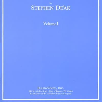 Theodore Presser Company Modern Method for the Violoncello: Volume I by Stephen De'ak for Cello