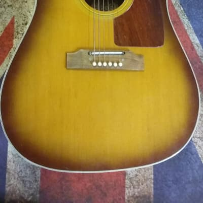 Antoria 212 Dreadnought Early 70's Sunburst for sale