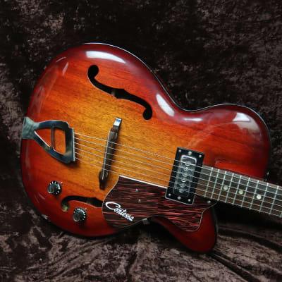 Contessa 6 string Hollow Body 1966-1971 Violin Burst for sale