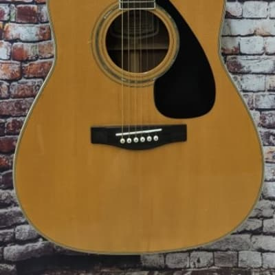 Yamaha FG-433S Solid Spruce Top Dreadnought Size Acoustic Guitar with Gig Bag for sale