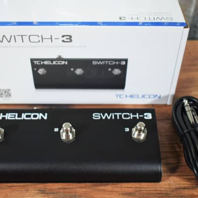 TC Helicon TC Electronic Switch 3 Guitar Effect Remote Control Footswtich Pedal for sale