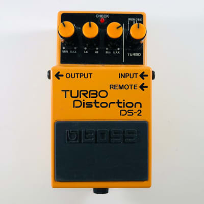 Boss DS-2 Turbo Distortion Pedal  *Sustainably Shipped*