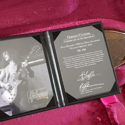 Gibson Les Paul Paul Kossoff VOS 1959 Lemonburst for sale
