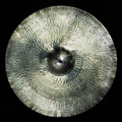 "A. Zildjian 18"" Transition Stamp Crash Cymbal 1946 - 1953"