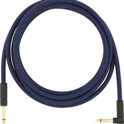 Fender 10' ANGLE CABLE, BLUE DREAM