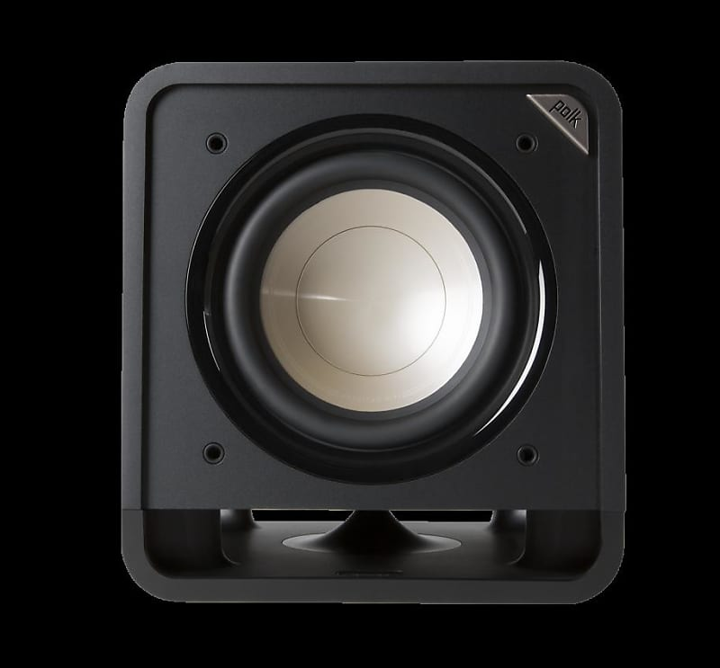 Polk Audio 10 Inches 200 Watts Home Theater Subwoofer Black Walnut (HTS SUB  10 BLK WAL)