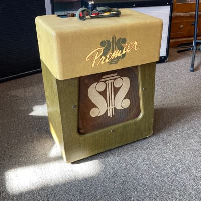 Premier  Model 120 with Rootbeer Audio amp built in for sale