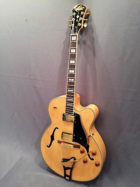 washburn oscar schmidt oe40n archtop guitar blues reverb. Black Bedroom Furniture Sets. Home Design Ideas