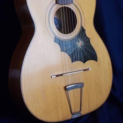 "Alfio Leone guitar ""Tarantella"" 1960 (Catania- Sicilia)"