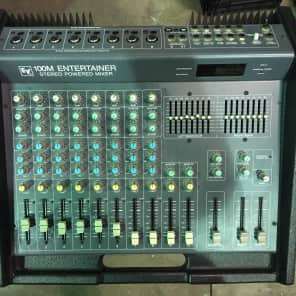 Electro-Voice 100M Entertainer 10-Channel Stereo Powered Mixer