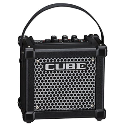 """Roland Micro Cube GX 3-Watt 1x5"""" Battery Powered Guitar Amplifier with 8 DSP Effects"""