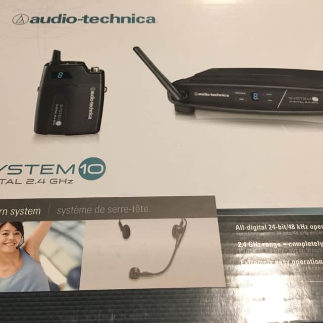 Audio technica  System 10 wireless systen  Head set image