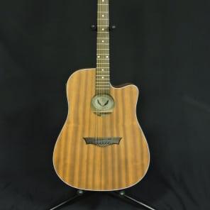 Dean AXS Dread Cutaway Acoustic-Electric Mahogany