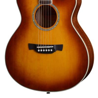 Guitare Folk Electro 3/4 de Voyage Crafter Castaway Ace VTG + Housse for sale