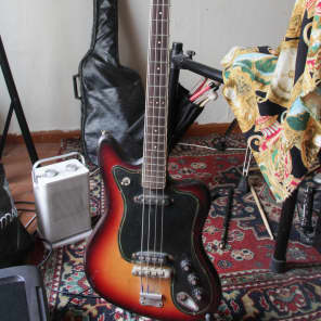 Musima De Luxe 25B - bass Vintage GDR Soviet USSR Jaguar Guitar 1976 Germany for sale