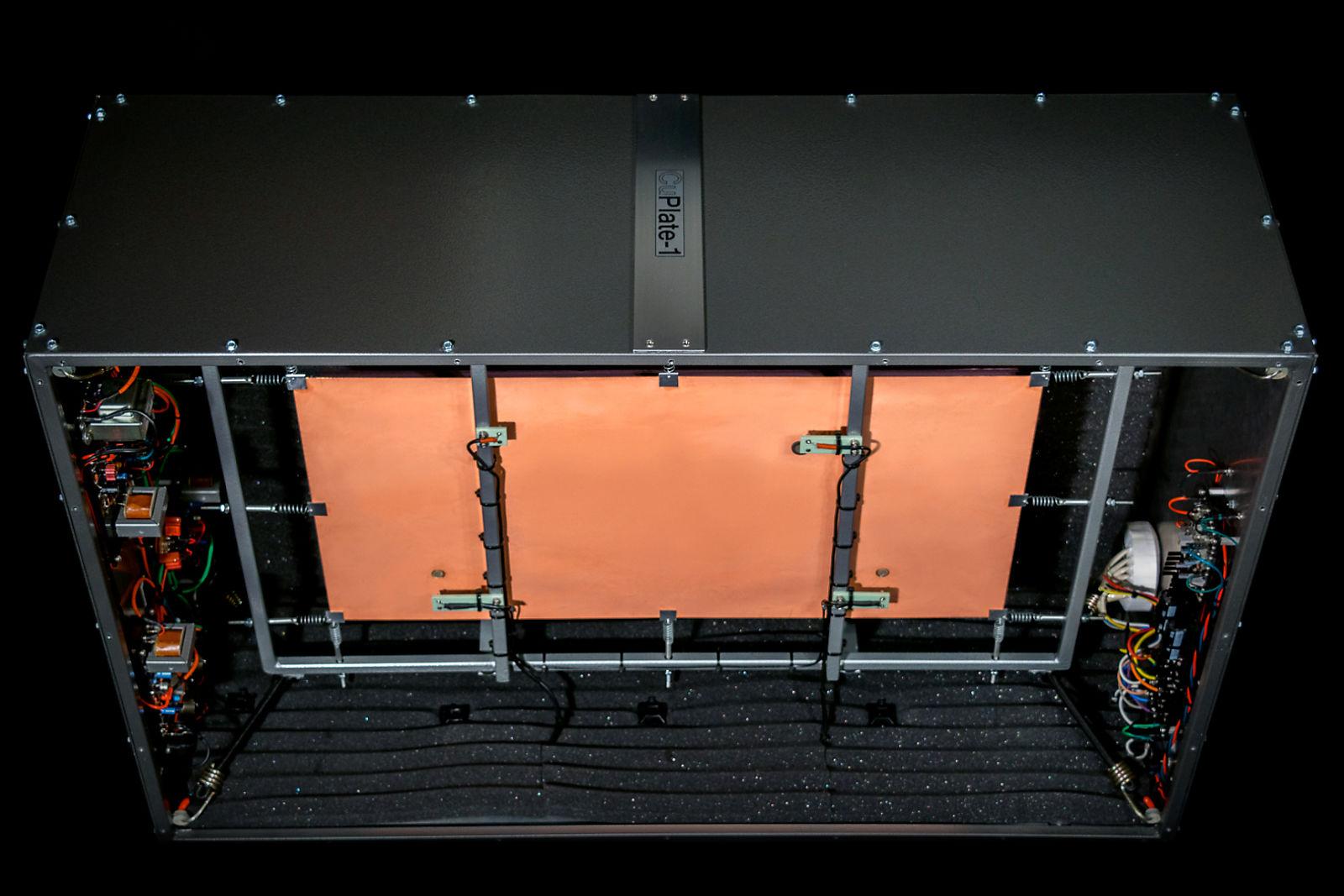 SOS Forum • CVRSE CuPlate-1 stereo copper foil analog plate reverb