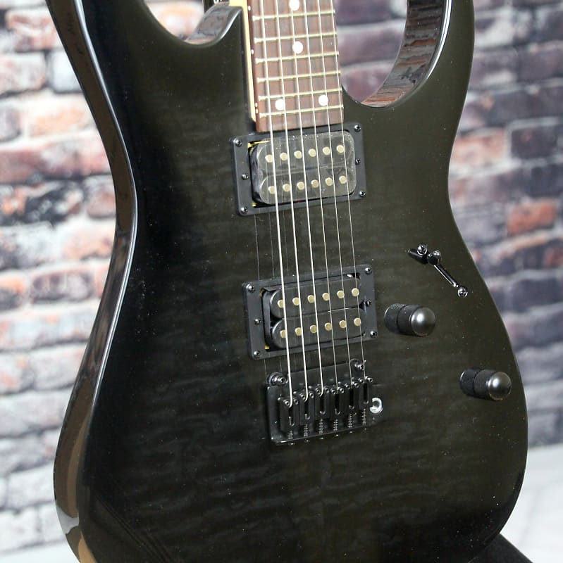 ibanez grg120qh gio series electric guitar transparent reverb. Black Bedroom Furniture Sets. Home Design Ideas