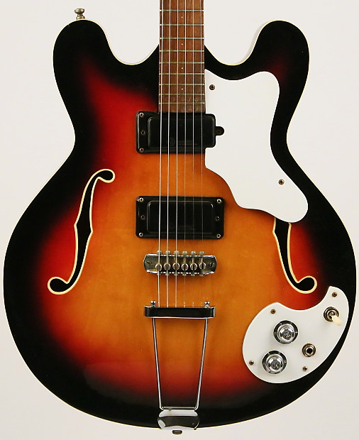 Mosrite Celebrity III Mark X Sunburst 1967 | Reverb