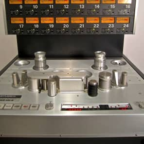 "Studer A800 MK III 2"" 24-Track Analog Multitrack Tape Machine with Remote"