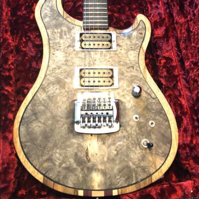 C.R. Alsip Lita Ford Prototype 001 Signed Custom DC Neck-Thru Model Electric Guitar for sale