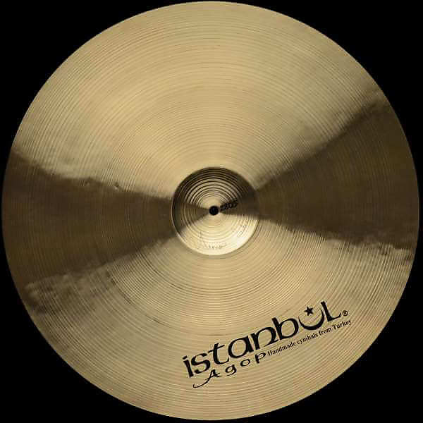 "Istanbul Agop Sterling 22"" Crash Ride 2805 g"