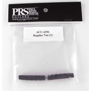 PRS Paul Reed Smith ACC-4206 Pattern Regular Neck Replacement String Nut Set