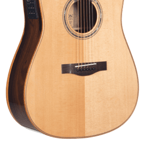 Teton STS160ZICENT Spruce/Ziricote Dreadnought with Electronics Natural