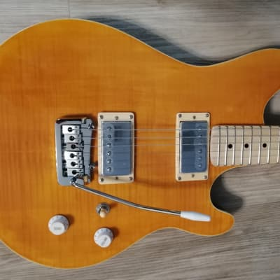 Elite EVH Style w/ Flamed Maple Solid Body Northern ASH Electric Guitar for sale