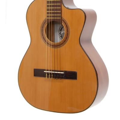 Paracho Elite Guitars Del Rio Requinto Solid Top Cedar Natural for sale