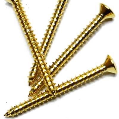 Fender Neck Mounting Screws Gold