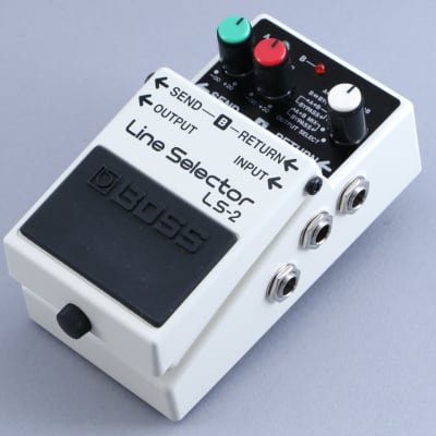 Boss LS-2 Line Selector Guitar Effects Pedal P-13813