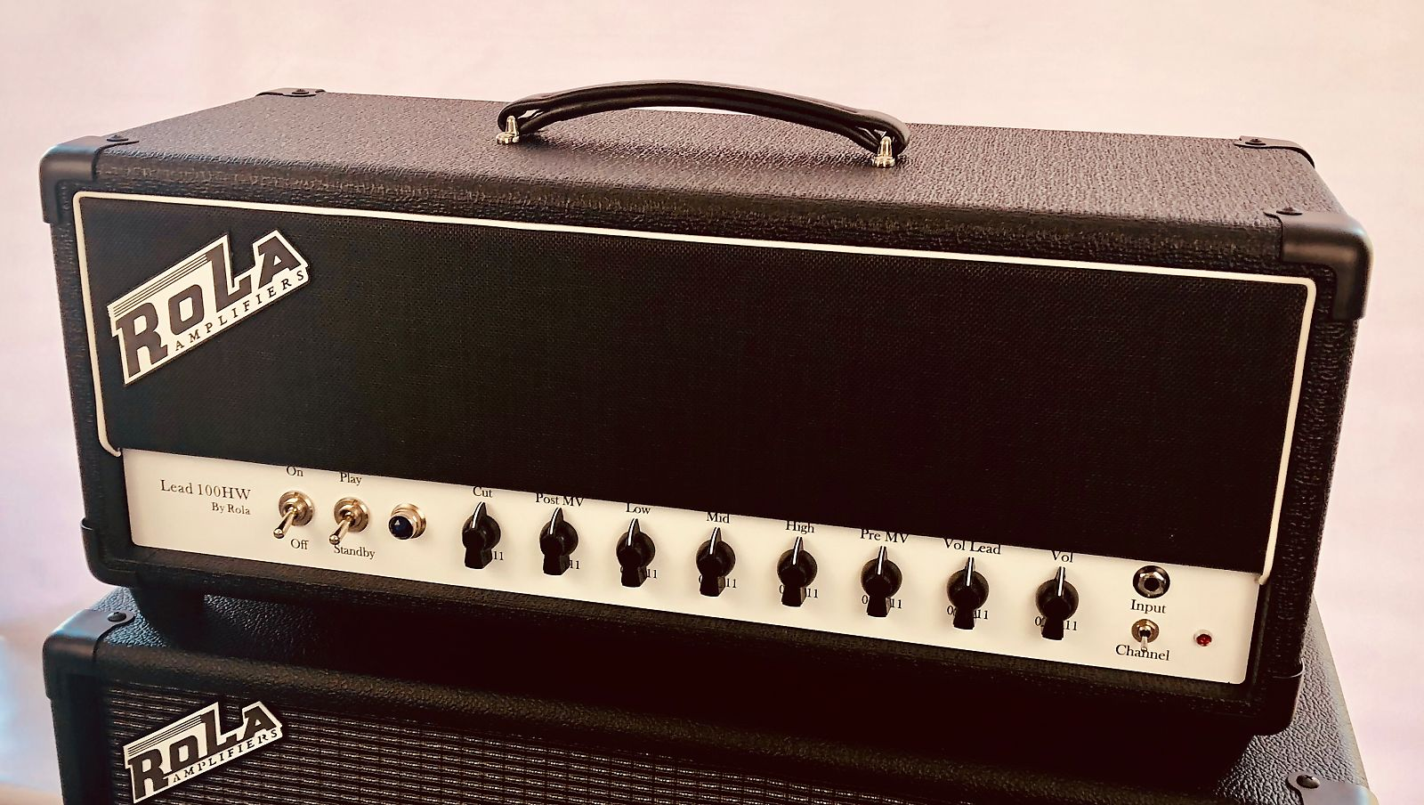 Rola Amplifiers, Lead 100HW, 2ch, Hand wired in the USA