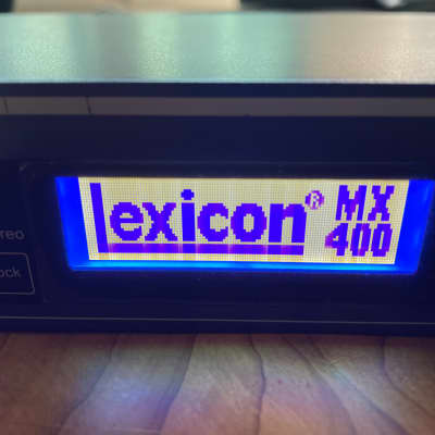 Lexicon MX400 Dual Stereo / Surround Reverb Effects Processor