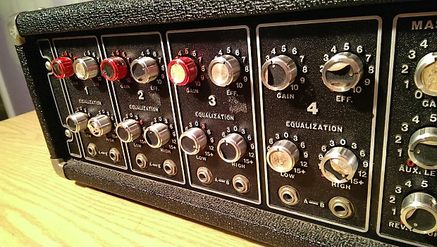 Dannys Auto Parts >> Peavey PA-200 4 Channel Mixer / Amp / Works Perfectly ...