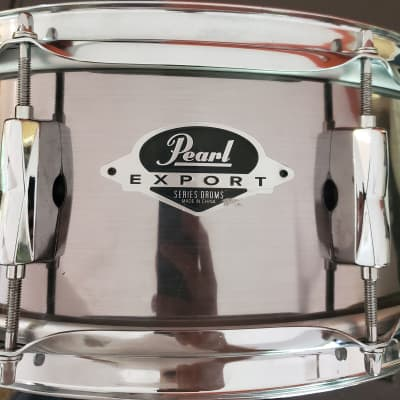 """Pearl Export Snare - 14x5.5"""" Smokey Chrome"""