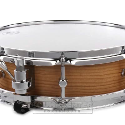 RBH Prestige Solid Cherry Snare Drum 14x4 w/Walnut Rings + FREE Case